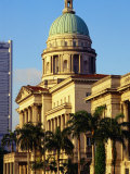Supreme Court Building, Former Symbol of British Law in Colonial Era, Singapore