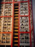 Apartment Buildings, Wanchai, Hong Kong, China