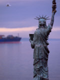 The Statue of Liberty, Given to Seattle by the Boy Scouts of America, Seattle, Washington, USA