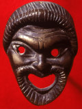 Classical Greek Comedy Mask