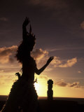 Buy Polynesian Dancer, Ahu Tahai, Easter Island at AllPosters.com