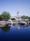 City Hall and Marina, Kingston Ontario, Canada