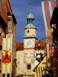 Markus Tower and Roder Arch, Rothenburg Ob Der Tauber, Germany