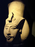 Statue of Pharaoh Akhenaten, Also Known as Amenhotep IV, Roman Museum of Antiquities