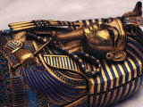 Gold Coffinette, Tomb King Tutankhamun, Valley of the Kings, Egypt