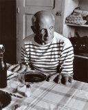 Les Pains de Picasso, c.1952 Art Print