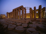 The Luxor Temple at Twilight