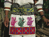A Shot of a Huichol Mans Traditional Outfit for the Peyote Pilgrimage That is Made Each Year