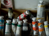Tubes of Artists' Water Color Paints