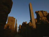 A View of Ruins at Luxor
