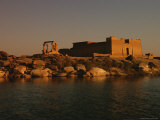 A View of Saqqara at Twilight