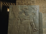 Relief Sculpture of an Assyrian King at Nimrud
