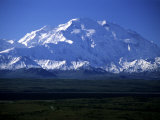 Denali National Park, Alaska, United States. Mt.Mckinley, the Tallest Mountain in North America