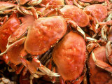 Fresh Crab in Pike Street Market, Seattle, Washington, USA
