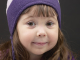 Little Girl in Toque