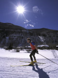 Cross-Country Skate Skier, CO