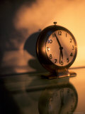 Early Morning, Clock on Nightstand