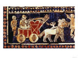Royal Standard of Ur, War Side, Sumerian Royal Graves of Ur, Early Dynastic Period, c.2600-2400 BC