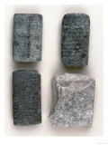 Old Babylonian Clay Tablets, Sumerian Text, 2112-1600 BC