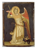 Angel Weighing a Soul, 1348-54