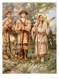 Lewis and Clark with Sacagawea