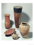 Selection of Vases, Naqada I/Ii Period, 4000-3100 BC