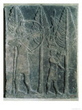 Relief Depicting the Hunting of Birds in the Woods, from the Palace of Sargon II at Khorsabad, Iraq