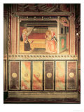 Annunciation, in the Cappella Del Sacro Cingolo Giclee Print