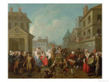Street Carnival in Paris, 1757