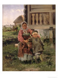 Brother and Sister, 1880