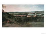 View Across Greenwich Park Towards London, Painted For Louis XV in Paris,