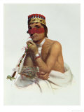 Wa-Em-Boesh-Kaa, a Chippeway Chief from Sandy Lake, 1826, Mckenney and Hall, Pub. by John Grant
