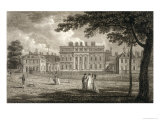 View of Buckingham House, Engraved by W. Knight, Published 1799