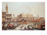 View of the Doge's Palace and the Piazzetta, Venice