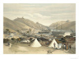 Balaklava, Looking Towards the Sea, Plate from The Seat of War in the East, 1856