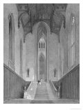 Great Western Hall Leading to the Grand Saloon, Fonthill Abbey, Engraved by c.J. Varrall, 1823