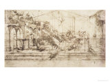 Perspective Study For the Background of the Adoration of the Magi