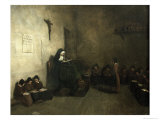 Interior of a School For Orphaned Girls, 1850