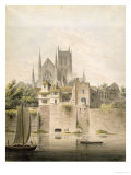 West View of Worcester Cathedral, 1798