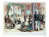 Reception in the House of an Annamite Mandarin in Tonkin, French Indo-China 1883