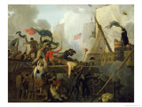 Heroism of the Crew of Le Vengeur du Peuple at the Battle of Ouessant, 1st June 1794