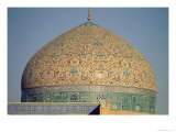 The Dome of the Masjid-I-Sheikh Lutfallah, Built by Shah Abbas I, c.1602-19