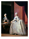 Empress Catherine II Before the Mirror, 1779