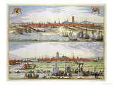 The City of Dunkirk During the Spanish Occupation, Published in Amsterdam, 1649