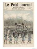 The Funeral of the Emperor of Brazil: The Carriage, from Le Petit Journal, 26th December 1891