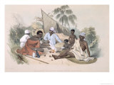 Aboriginal Inhabitants, Encampment of Native Women, Cape Jervis, South Australia Illustrated, 1847