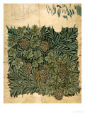 Design For Vine Wallpaper, c.1872