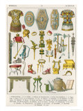 Roman Accessories, from Trachten Der Voelker, 1864