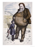 Cartoon Featuring William Marcy Boss Tweed