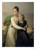 Prince Albrecht and Princess Louise, c.1817